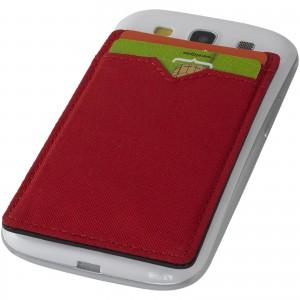 Dual RFID kártyatartó telefonra, piros