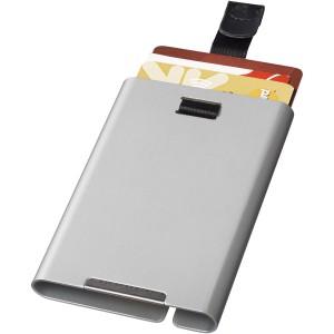 Pilot RFID kártyatartó, ezüst