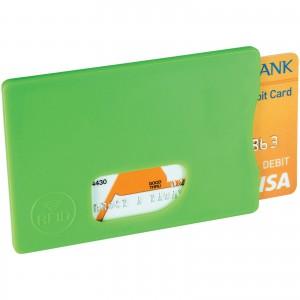 RFID bankkártya-védő, lime