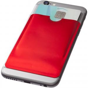 RFID kártyatartó telefonra, piros