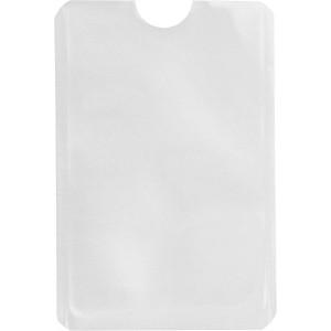 Kártyatartó RFID védelemmel, fehér