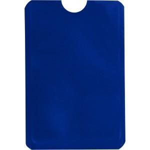Kártyatartó RFID védelemmel, kék