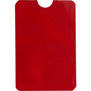 Kártyatartó RFID védelemmel, piros